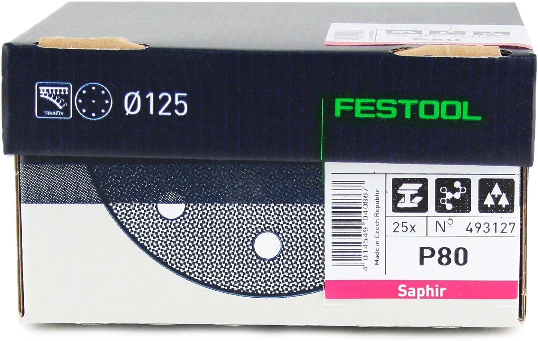 Festool 497169/Disques abrasifs STF D125//90/gr//100/K120/pour ro 125//ETS 125/ Lot de 100
