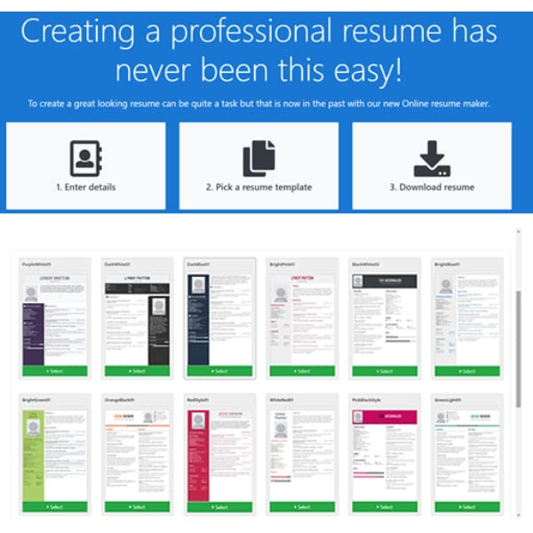 Amazon Com Online Resume Builder Appstore For Android
