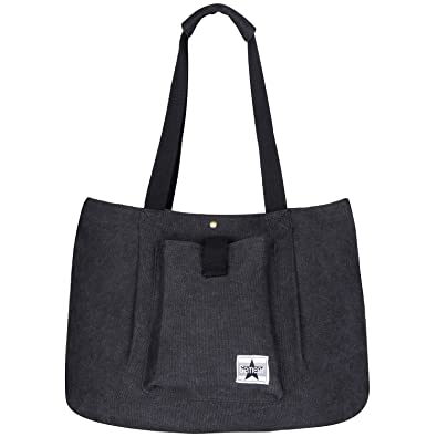 Gemeer Tote Bag Canvas Large Handbags for Women School Work and Shopping bag  - Dark Gray  Amazon.co.uk  Shoes   Bags 5b2ce99b86b70