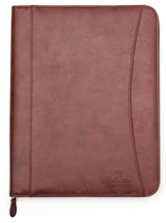 Resume For Cna Examples Amazoncom  Gemline Deluxe Executive Vintage Brown Leather  Food Service Resume Word with Investment Analyst Resume Word Professional Executive Pu Leather Business Resume Portfolio Padfolio  Organizer With Ipad Mini Or Tablet Sleeve Holder Project Management Skills Resume Excel