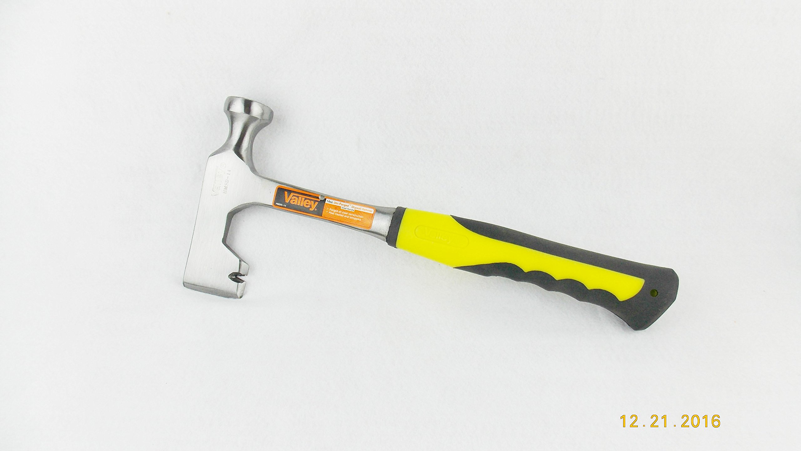 Dry Wall Hammer-one Piece Forged All Steel Drywall Hammer by Forgecraft USA