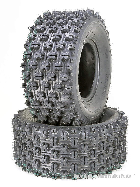 Set of 2 WANDA ATV Tires 22x11-10 22x11x10 GNCC Racing 4PR 10268
