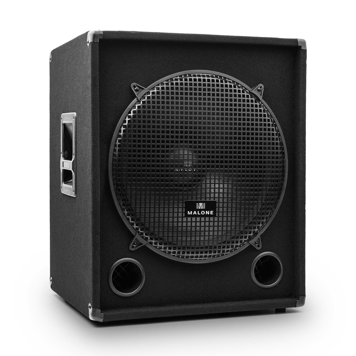 Auna PW-1018-SUB Subwoofer Sono PA passif 46cm 1200W product image