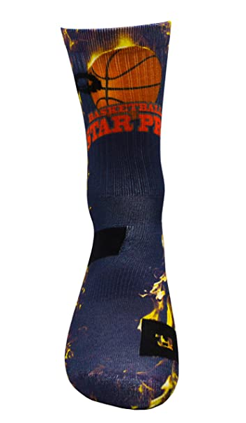 Estrella de Baloncesto PRO Athletic Calcetines con Diseño Motivo ...