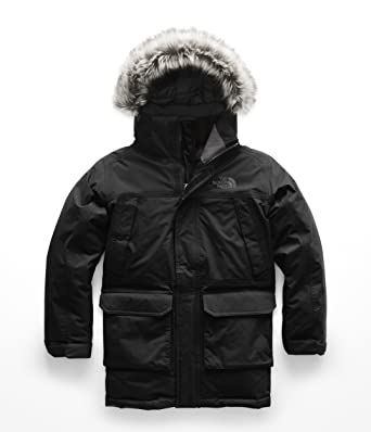 be37835a7 Amazon.com  The North Face Boy s McMurdo Down Parka  Clothing