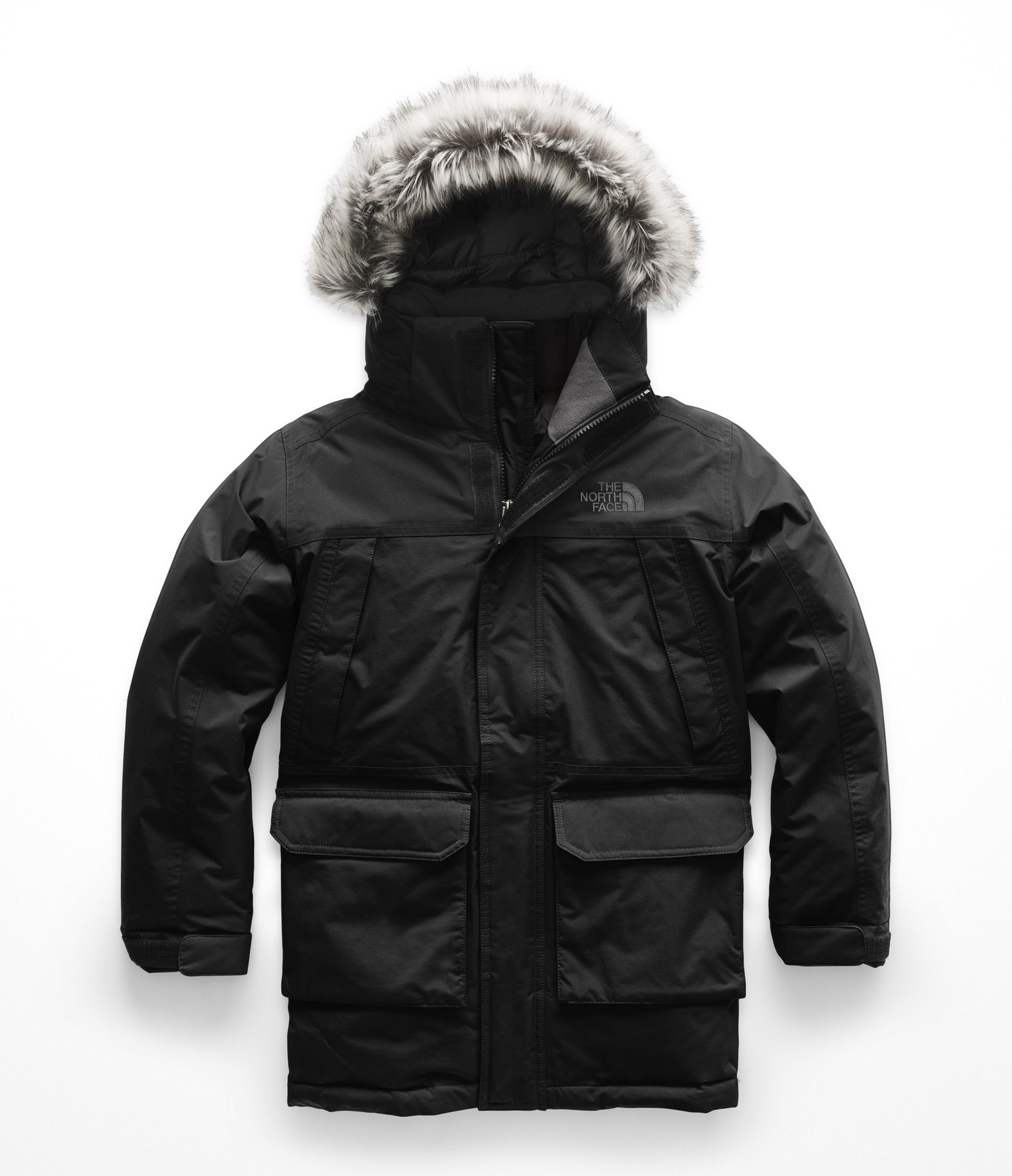 The North Face Kids Boy's McMurdo Down Parka (Little Kids/Big Kids) TNF Black/TNF Black Small