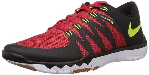 competitive price 3f481 7e2af Nike Men s Free Trainer 5.0 V6, University Red Volt - Black - Cool Grey