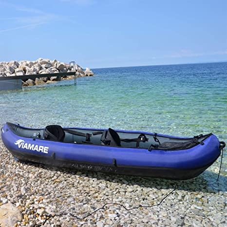 Canoa Kayak Hinchable 330 + Pack Seaboat: Amazon.es ...