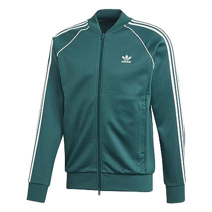adidas SST Track Jacket Men's, Green, Size S: Amazon.es
