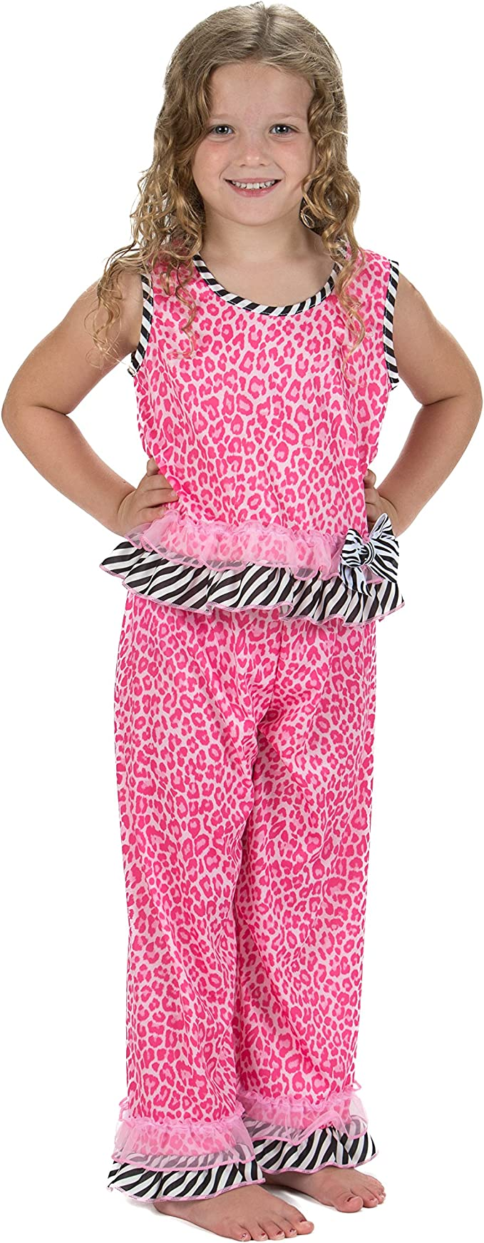 Laura Dare Dreamy Leopard Pajamas for Toddlers and Girls Made in the USA