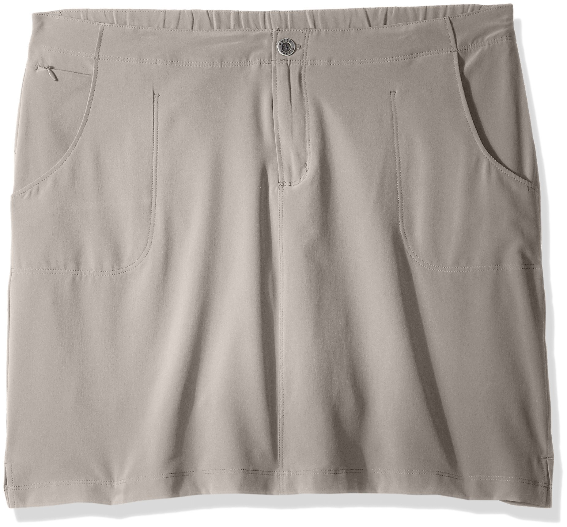 White Sierra West Loop Trail Skort - 19'' Length