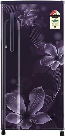 LG 188 L 3 Star Direct Cool Single Door Refrigerator(GL-B191KPOW.APOZEBN, Purple Orchid, Smart Inverter Compressor)