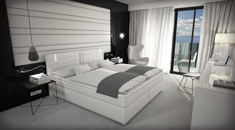 polsterbett led awesome led polsterbett doppelbett. Black Bedroom Furniture Sets. Home Design Ideas