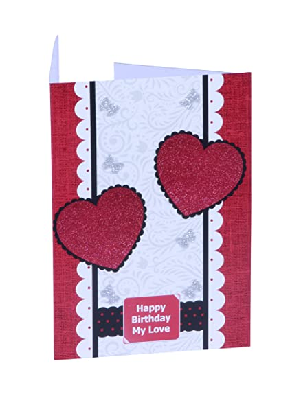 Pisole Pi203 Unique Design Birthday Card For Husband Wife Boyfriend Or Girlfriend Amazon In Home Kitchen