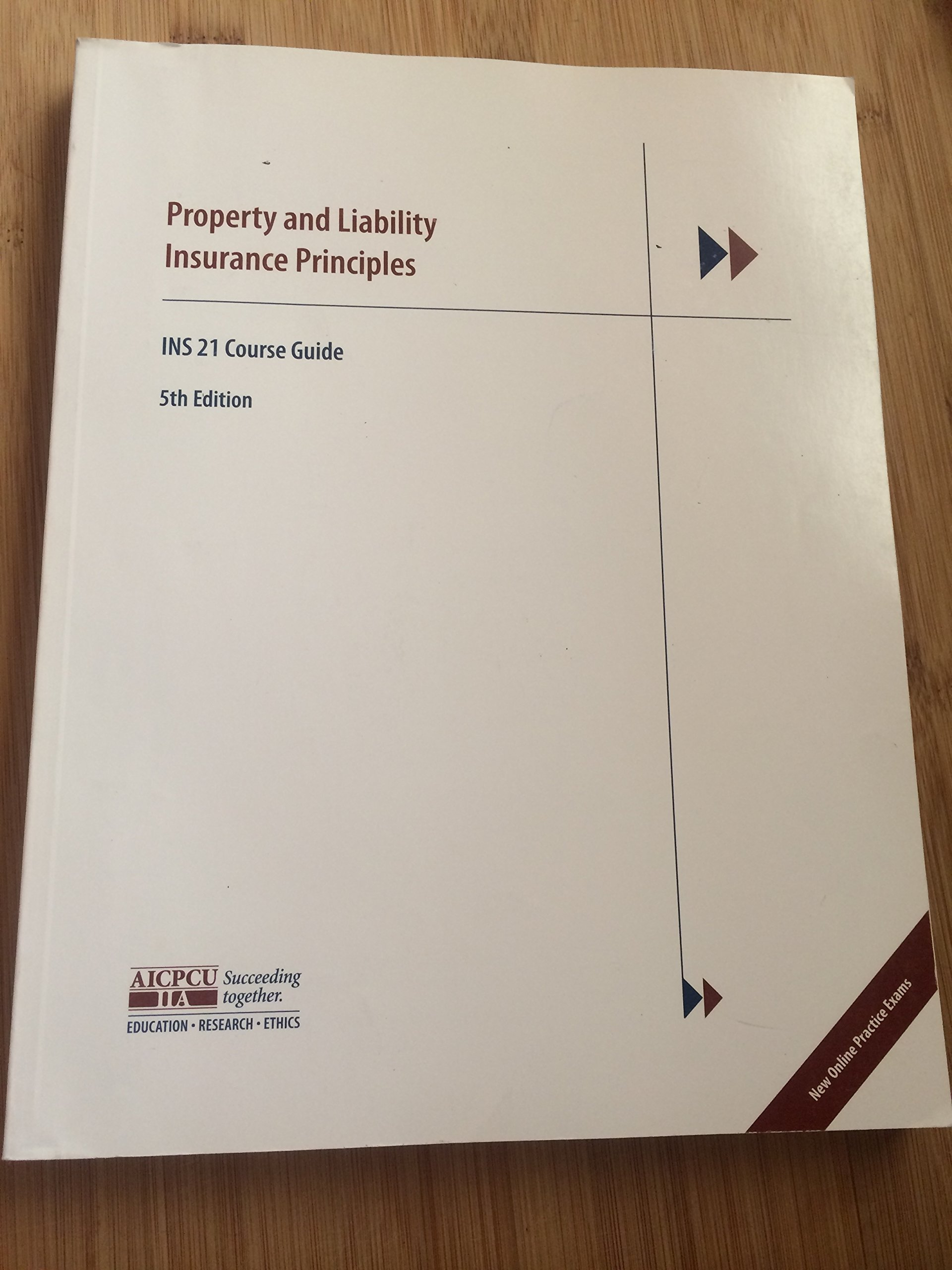 Property and liability insurance principles ins 21 course guide property and liability insurance principles ins 21 course guide aicpcu 9780894633751 amazon books xflitez Gallery