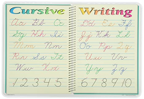 Amazon.com: Painless Learning Cursive Writing Placemat: Home & Kitchen