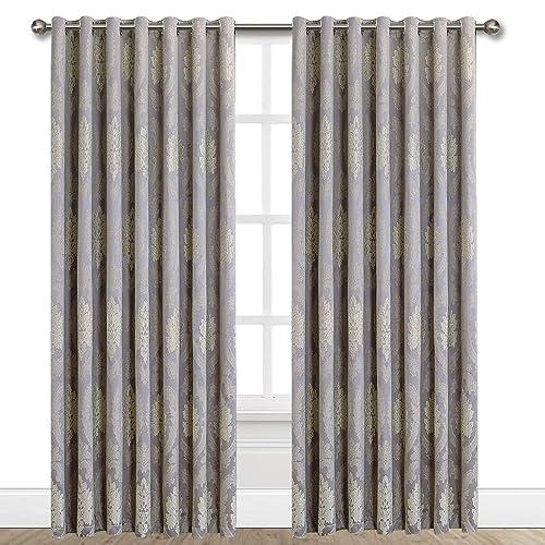 Mauve Eyelet Curtains Amazon Co Uk