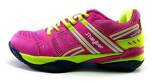 JŽHayber Telera Zapatilla Padel para Mujer: Amazon.es: Zapatos y complementos