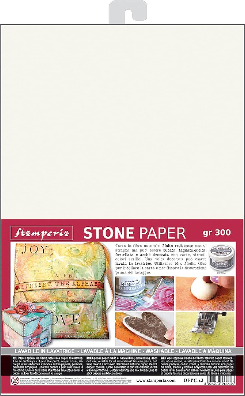 Stamperia Intl Lavable Pierre Papier 41.91/x 30.48/x 0.12/cm Multicolore