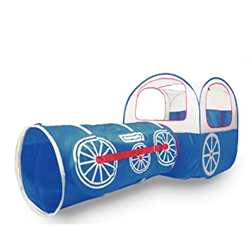 ALPIKA Train Kids Pop Up Play Tent Tunnel and Ball Pit with Storage Bag  sc 1 st  Amazon.com & Amazon.com: ALPIKA Train Kids Pop Up Play Tent Tunnel and Ball ...