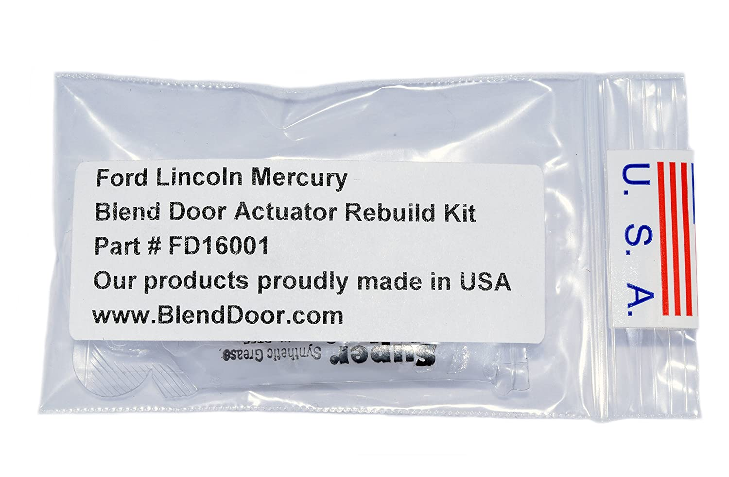 Blend Door Actuator Gear Rebuild Kit Fits Ford Lincoln Gm Temperature Wiring Harness Mercury 1990 2012 Automotive