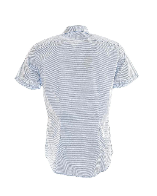 Fred Perry - Camisa Casual - para Hombre Azul Claro Small: Amazon ...