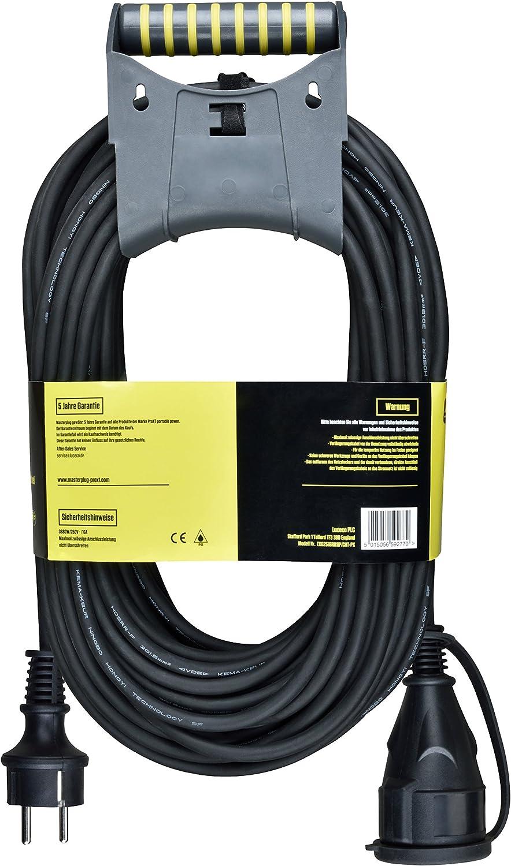 /Extensi/ón de Cable 25/m para Uso en Exterior IP44/con Pared con asa 250/V 3680/W Master Plug exg25/16rr1ip//cht de PX Pro XT Protecci/ón de Contacto/