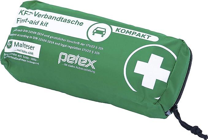 Petex Verbandtasche Slim Kompakt Grün Auto