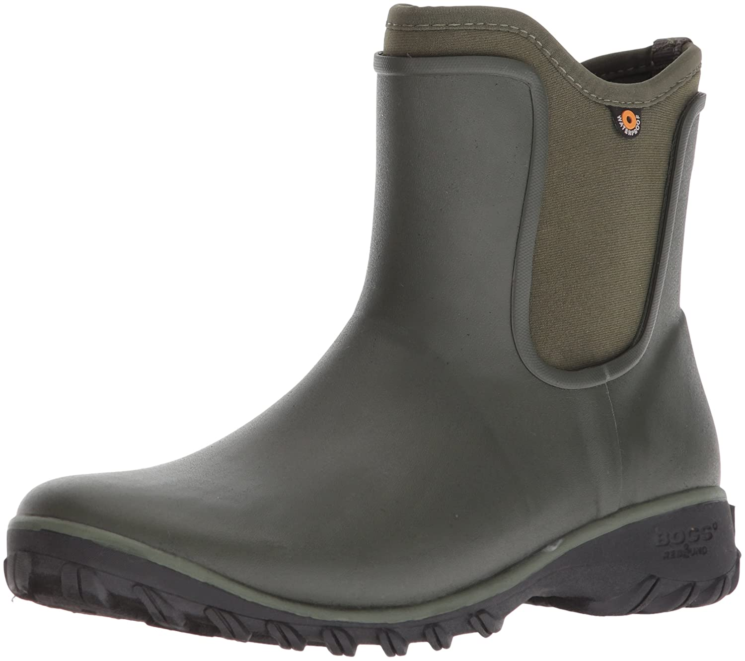Bogs Women's Sauvie Slip Solid Rain Boot B073PK9FDR 8 B(M) US|Sage