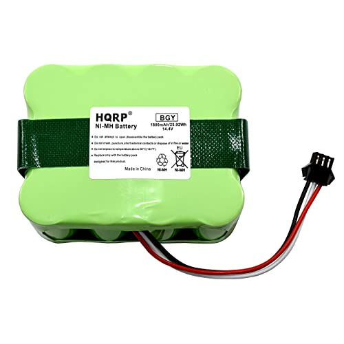 HQRP Battery Compatible with bObsweep Bobi Classic, BObi Pet Robotic Vacuum Cleaner, 00 Series, OO Series 017144-TN, BQBS1000, BQBS1003