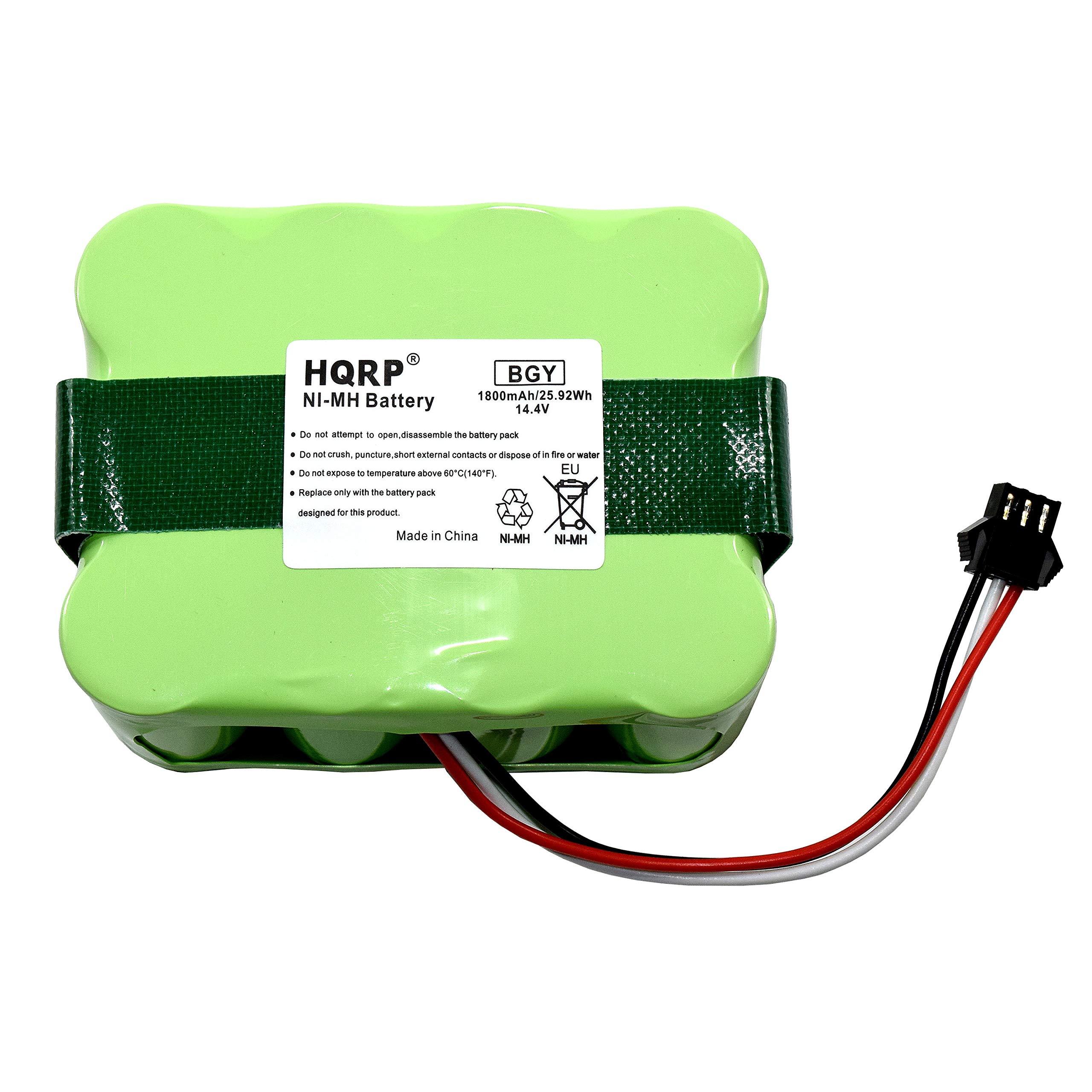 HQRP Battery for bObsweep Bobi Classic, BObi Pet Robotic Vacuum Cleaner, 00 Series, OO Series 017144-TN, BQBS1000, BQBS1003