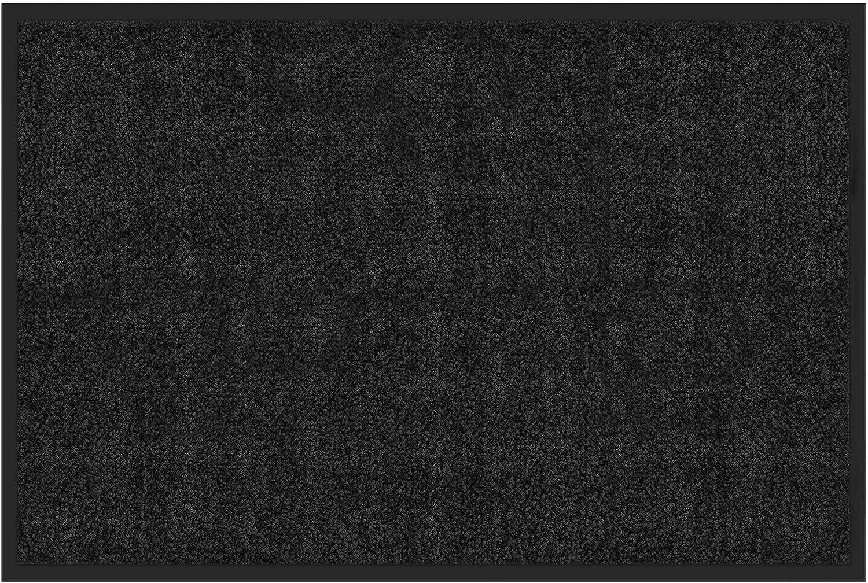 Tapis Rhine Anti-poussi/ère casa pura Paillasson Entr/ée Int/érieur Tapis de Sol /à lInt/érieur ou /à lExt/érieur Turquoise Tapis de Porte dEntr/ée 90x120cm