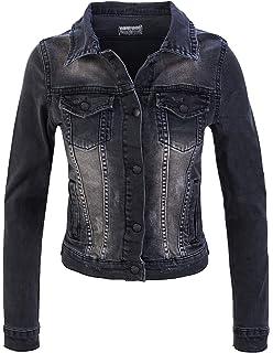 ccf40b7a04111f Sotala Damen Jeansjacke Damenjacke Kurze Denim Stretch Jeans Jacke ...