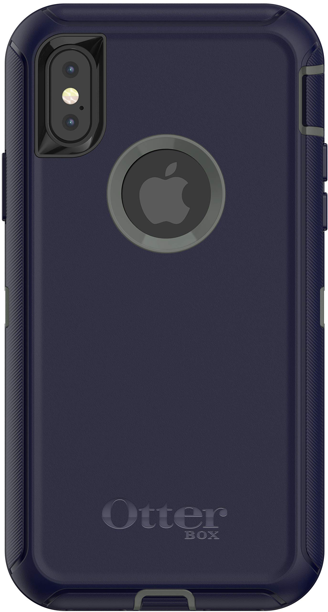 OtterBox Defender Series Case for iPhone Xs & iPhone X (Case Only - Holster Not Included) Non-Retail Packaging - Stormy Peaks by OtterBox