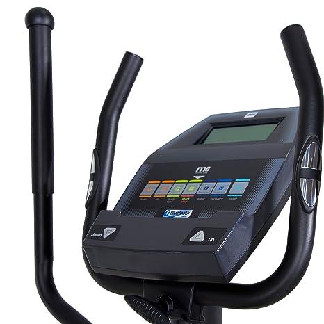 BH Quartz II bicicleta elíptica. Fitness Apps. 14 Kg sistema inercial. Negra. G2381iFD: Amazon.es: Deportes y aire libre