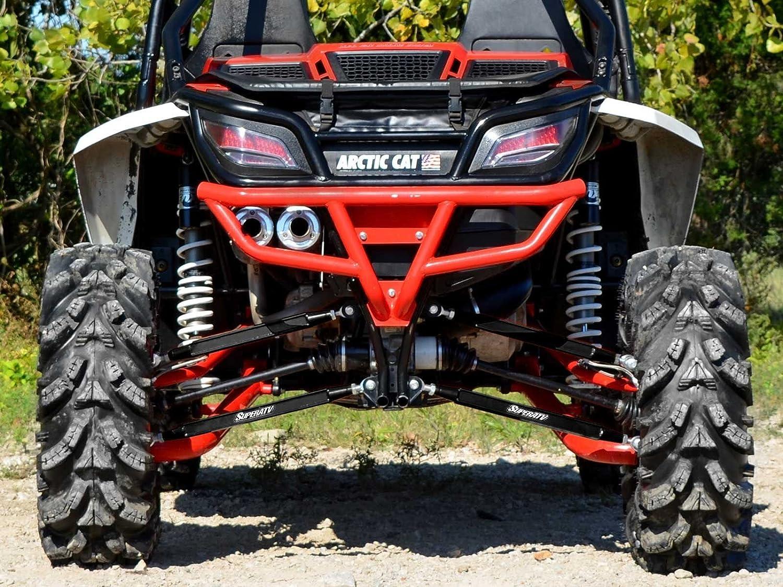 Amazon.com: SuperATV Heavy Duty Boxed Rear Radius Arms/Rods for Arctic Cat Wildcat (2013+) - Black: Automotive