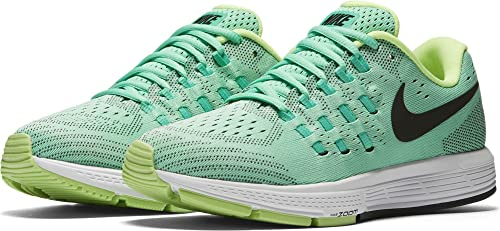 promo code 07523 65a7d Nike Womens Air Zoom Vomero 11 Green GlowBlack Menta White Running Shoe 6  Women