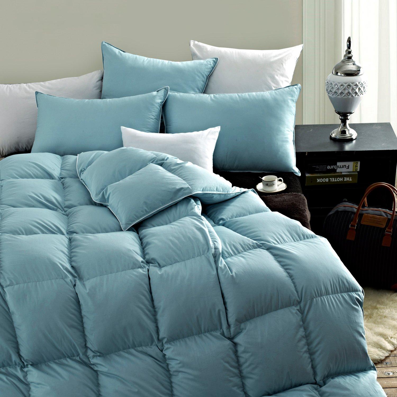 SNOWMAN White Goose Down Comforter