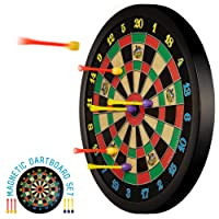 Doinkit Darts Kid-Safe Indoor Magnetic Dart Board - Easy to Hang, Fun to Play, No...