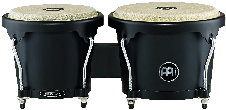 MEINL Percussion マイネル ボンゴ Headliner Designer Series Wood Bongo HB100PBK-M 【国内正規品】 B00AZHDK4G Phantom Black