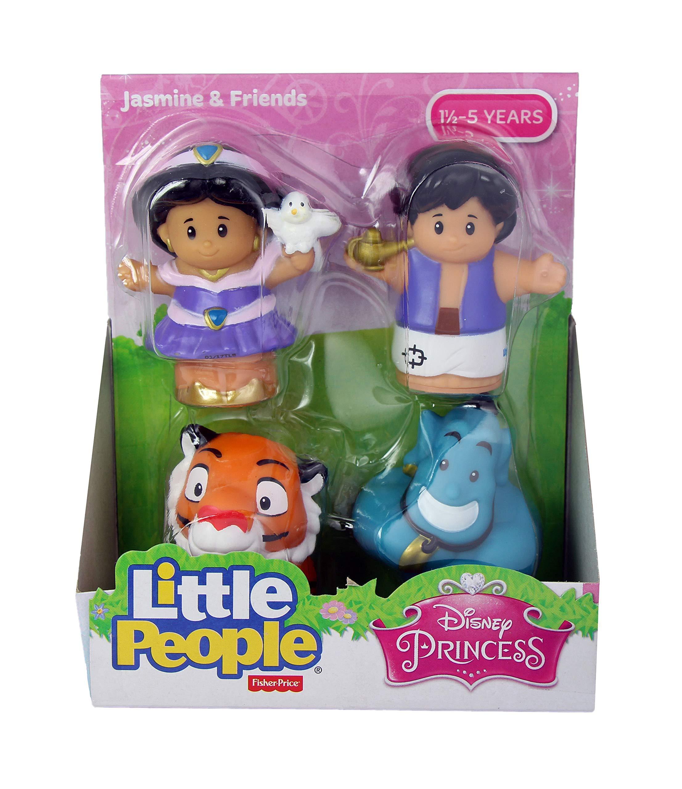 Fisher Price Little People Disney Princess & Friends Figure Set of 4 - Belle, Cinderella, Jasmin & Rapunzel by Disney Princess (Image #6)