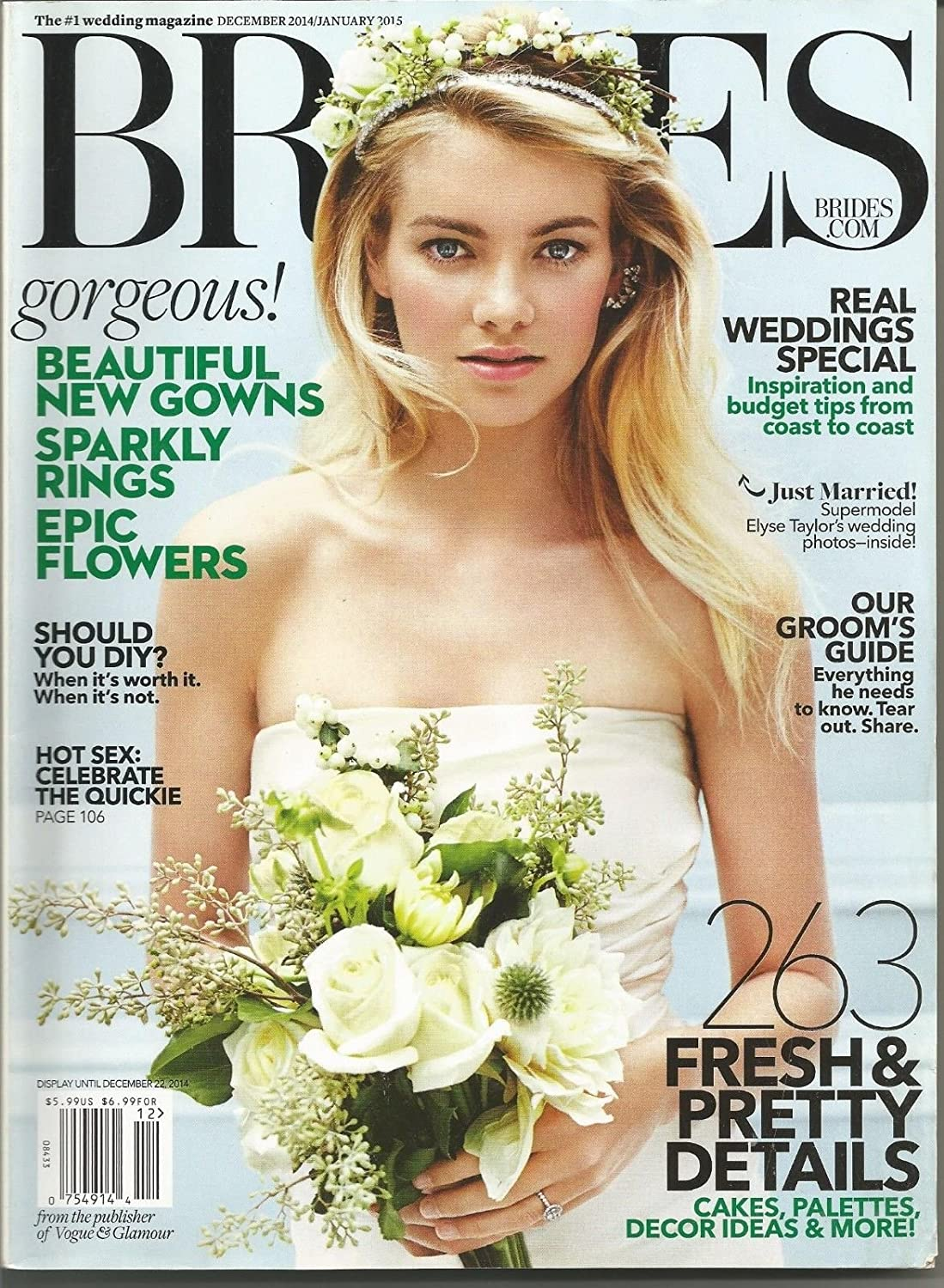 BRIDES, DECEMBER/JANUARY 2015, THE BEST YEAR OF YOUR LIFE STARTS HERE! s3457