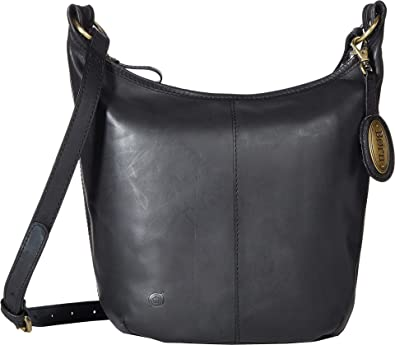 3cc29141419 Amazon.com  Born Womens Plymouth Distressed Bucket Hobo Black One ...