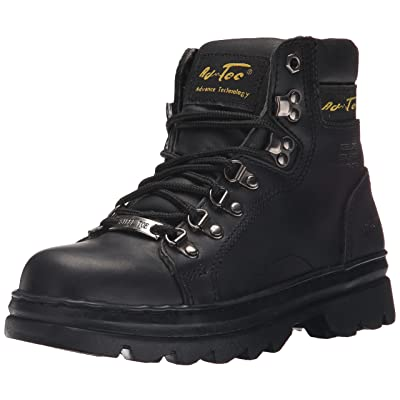 """AdTec Women's 6"""" Steel Toe Work Boot: Shoes"""