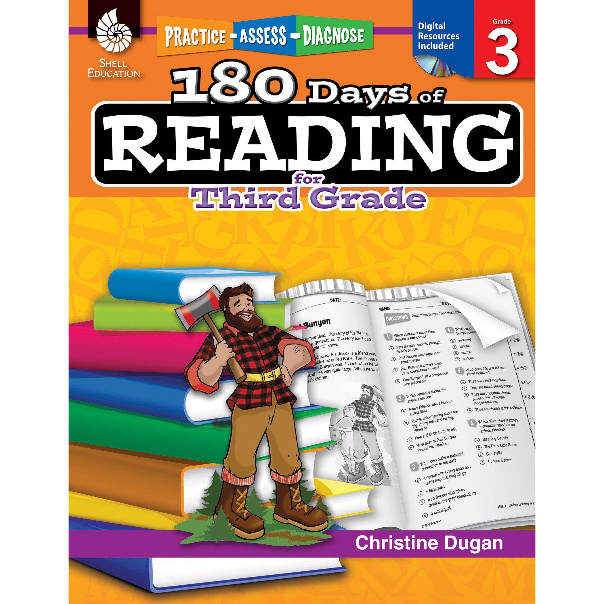 Amazon.com: 180 Days of Reading: Grade 3 - Daily Reading ...