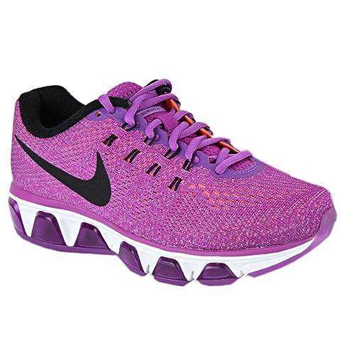 lowest price 98a54 301b4 Nike Womens Air Max Tailwind 8 805942-500 (8. 5 B(M) US, Vivid  Purple Black Hyper Orange)  Amazon.in  Shoes   Handbags