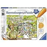 Ravensburger 00524 - tiptoi Puzzeln, Entdecken, Erleben: Im Zoo
