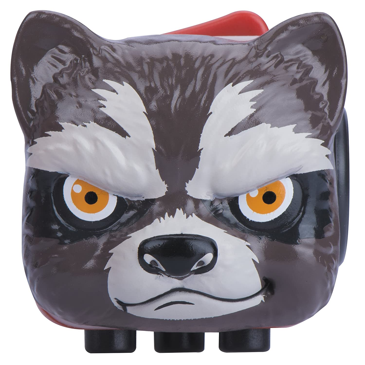 Antsy Labs Marvel Character Fidget Cube Rocket Raccoon Design - Six Functional Sides w/ Anxiety Relief Stone