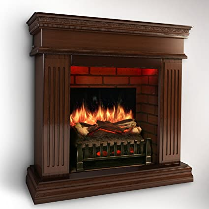 Amazon Com Magikflame Electric Fireplace W Realistic Flame Effects