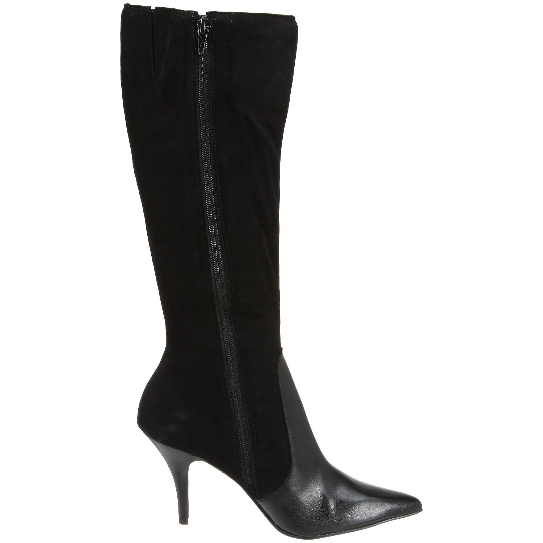 ef98be67333 Amazon.com | Diego di Lucca Women's Alina Knee-High Boot, Black, 11 ...